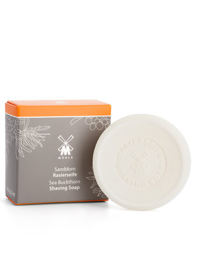 Shaving soap from MÜHLE, with Sea Buckthorn